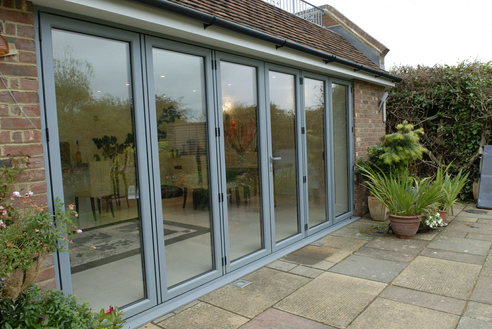 shoreham by sea aluminium bi fold doors