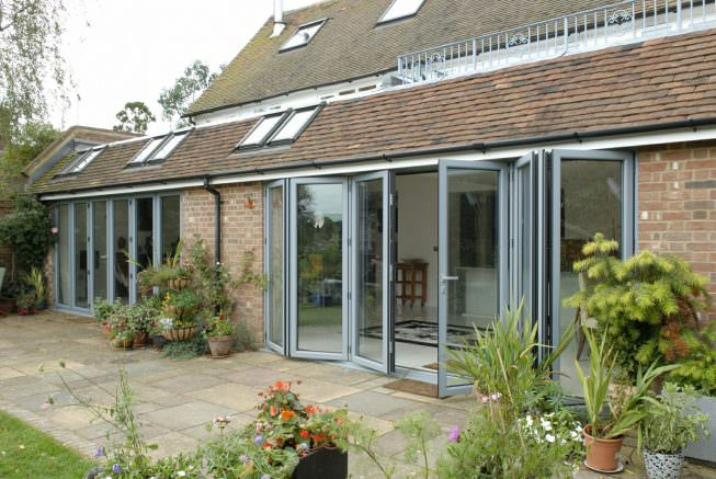 Aluminium Bi-fold Doors Eastbourne