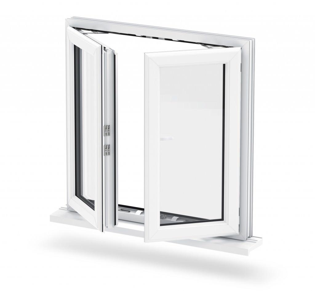 Double glazed windows eastbourne windows xpress for Double casement windows
