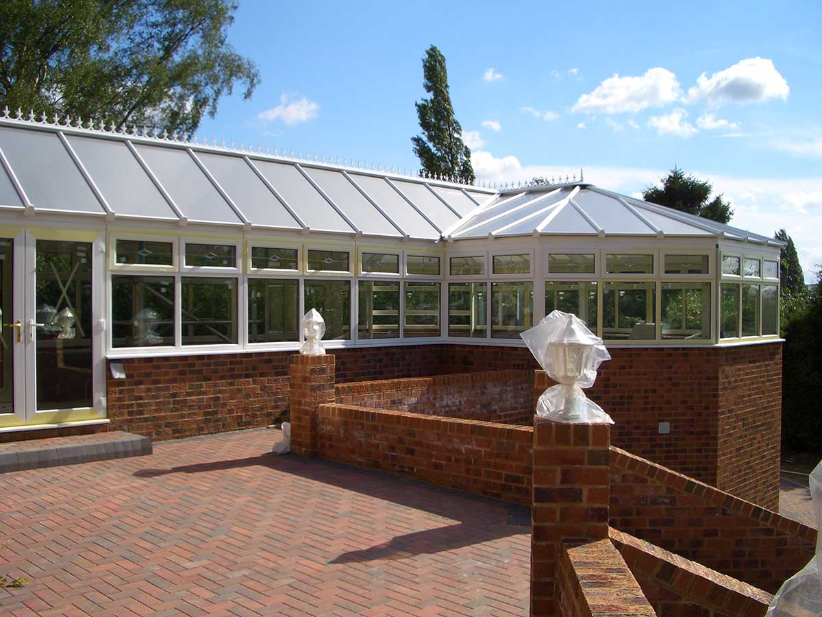 P-Shape uPVC Conservatory Polegate East Sussex