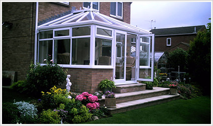 Edwardian conservatories in Stone Cross