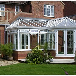 p-shaped conservatory hailsham
