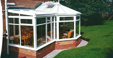 p-shape conservatory Seaford