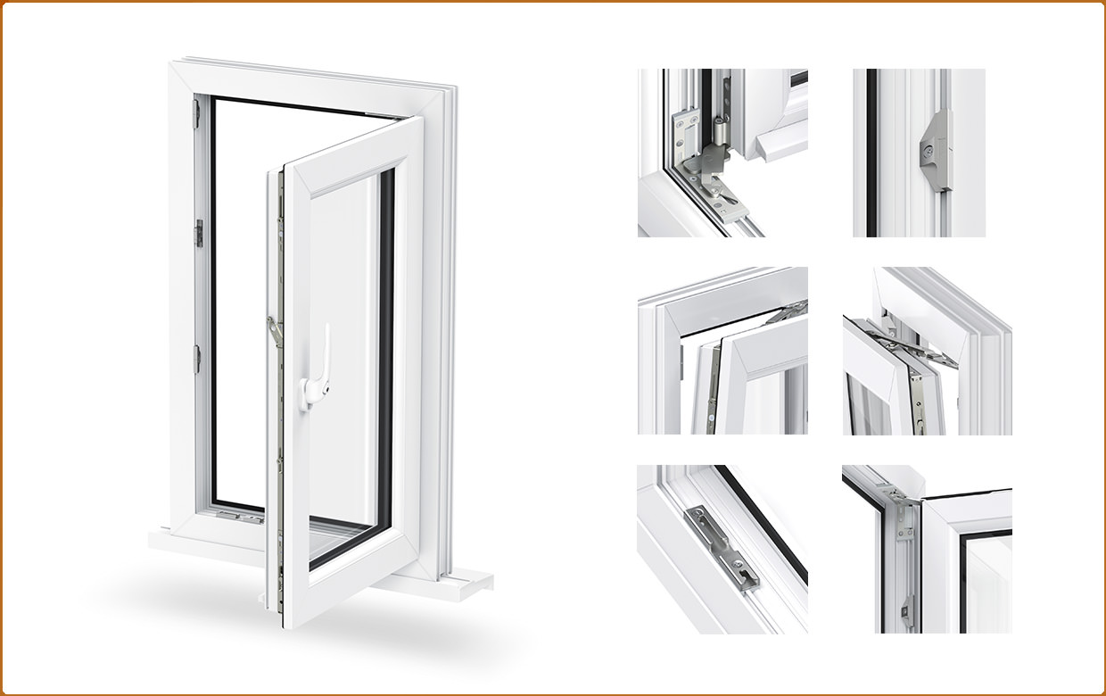 Tilt and Turn Windows in East Sussex from Windows Xpress